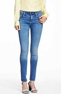 Medium Indigo Super Skinny