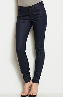 J22 - Matte Coated Indigo Jegging