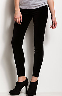 J22 - Matte Coated Black Jegging