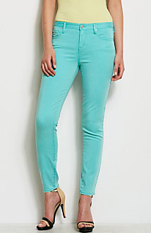 J22 - Colored Mid-Rise Super Skinny Jean
