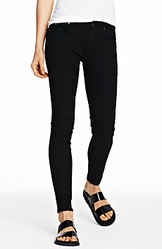 Black Power Stretch Super Skinny Jean