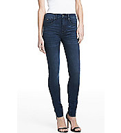 Medium Wash High Rise Super Skinny