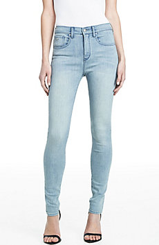 Light Wash High Rise Skinny