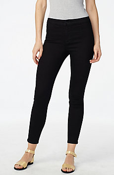Dark Wash Clean-Front Jegging