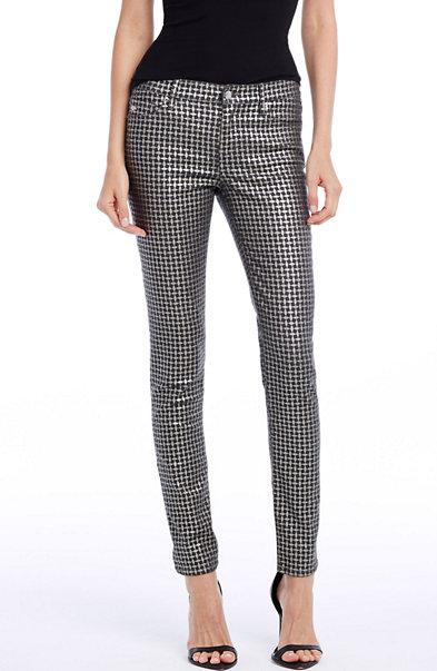 Geo Sparkle Skinny Jean