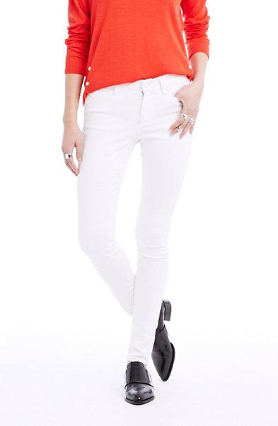 Clean White Skinny Jean