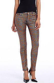 Geo Sparkle Indigo Skinny Jean