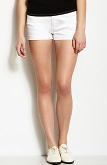 White Denim Short<br>Online Exclusive