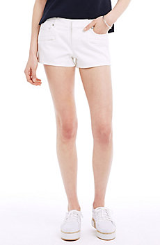Clean Rinse White Denim Short