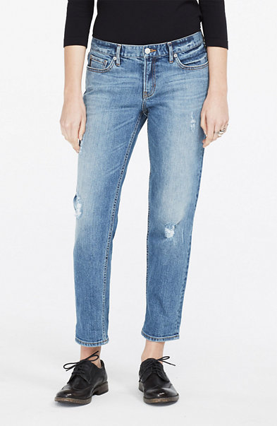 Distressed Boyfriend Jean