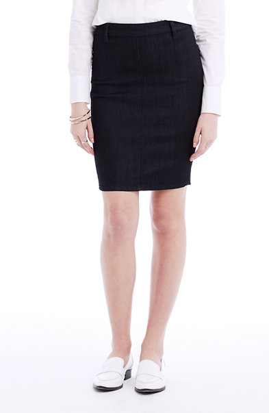 Curator Denim Pencil Skirt
