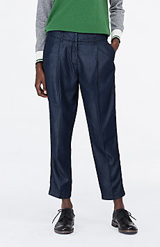 Lyocell Pleated Trouser