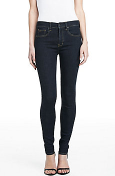 Dark Rinse High Rise Super Skinny
