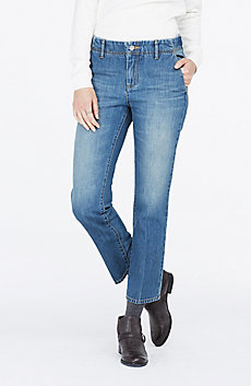 Cropped Straight-Leg Carpenter Jean