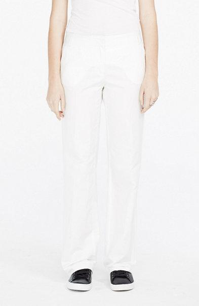 Linen Blend Tuxedo Trouser