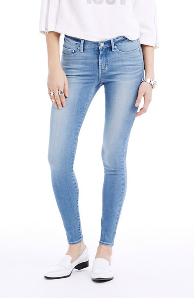 Light Wash Super Skinny Jean