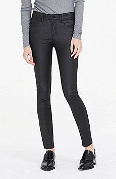Coated Super Skinny Jean