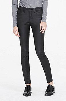 Coated Super Skinny Jean