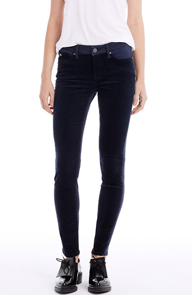 Cord Front Super Skinny