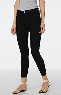 Pure Black Super-Skinny Jean