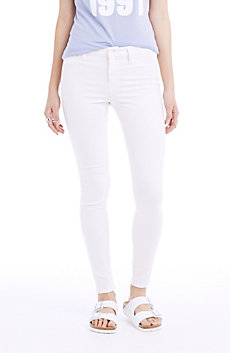 Clean White Super Skinny Jean