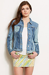 Patchwork Trucker Jacket