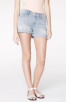 Distressed Whiskered Short