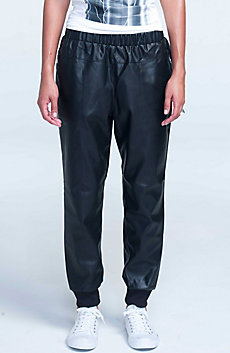 Cuffed Coated Jogger