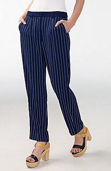 Fluid Pleat Trouser