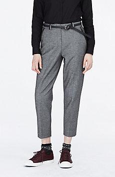 Binding Detail Suiting Trouser