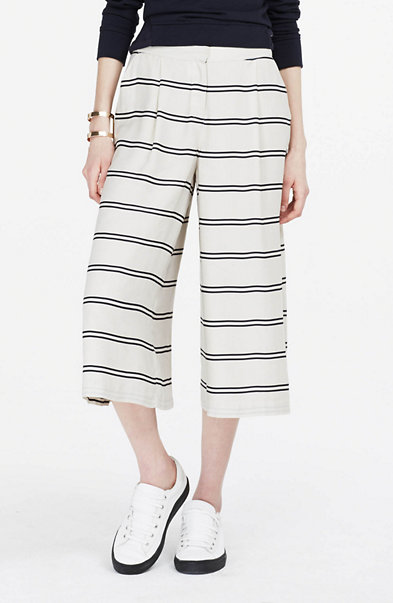 Striped Culotte Pant