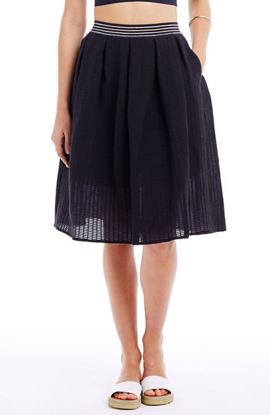 Perforated Full Skirt