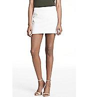 Straight Cut Mini Skirt
