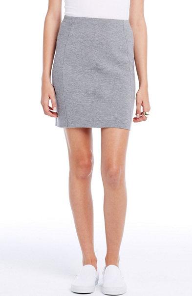 Merino Pencil Skirt