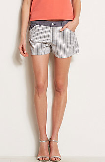 Colorblock Stripe Short