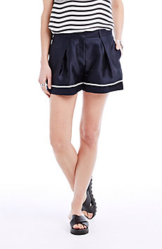 Contrast Stripe Short