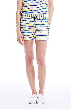 Painterly Stripe Short