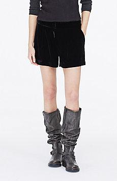 Velvet Dress Short