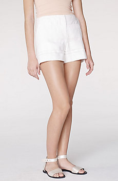 Textured Stripe Short