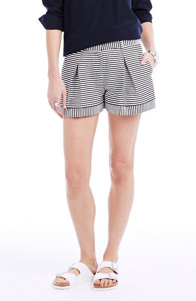 Jacquard Striped Short