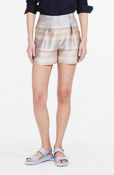 Striped Structured Short