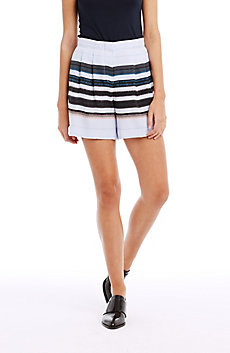 Fluid Pleat Short