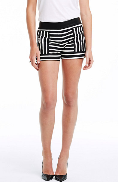 City Stripe Jacquard Short