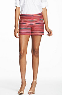 Multi Stripe Jacquard Short