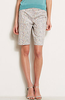 Printed Bermuda Short<br>Online Exclusive