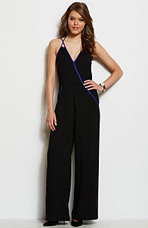 Wrap Front Jumpsuit<br>Online Exclusive