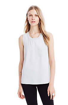 Crepe Pocket Tank