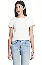 Horizontal Pleated Top