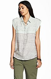 Striped Military Tunic