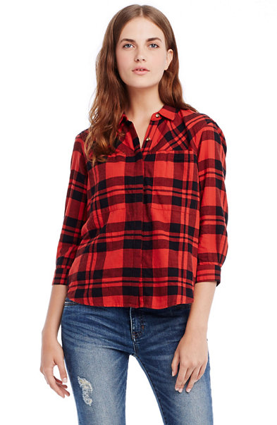 Flannel Swing Shirt